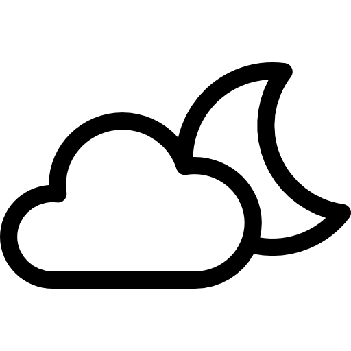 Climate drawing stormy weather. Icon page png svg