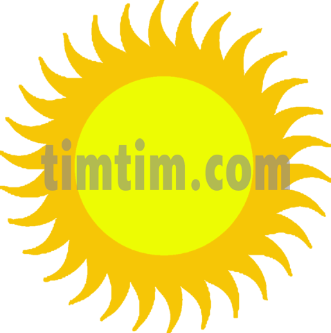 Climate drawing sun. Free of a icon