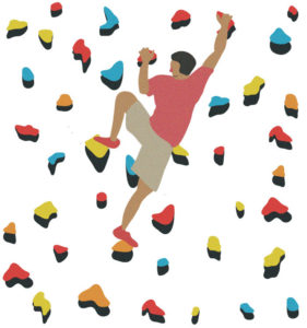 Climber clipart rock wall. On the fine print