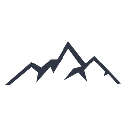 Climbing vector mountain. Silhouette icon download page