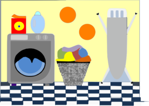 Room vector animated. Laundry clip art at