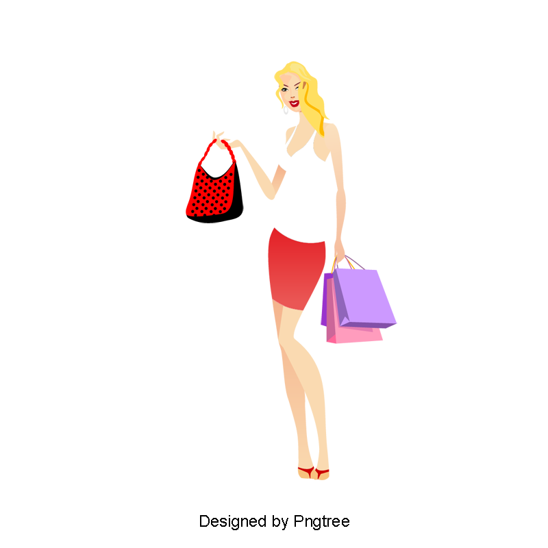 Clip art fashion girl png. Shopping silhouette girls and