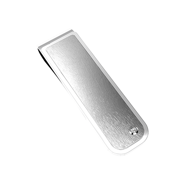 Silver clip money. Stainless steel jewelry creations