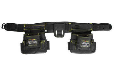 Clip bag belt. Magnetic work gear magnogrip