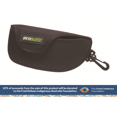 Clip purse belt loop. Spectacles soft case with