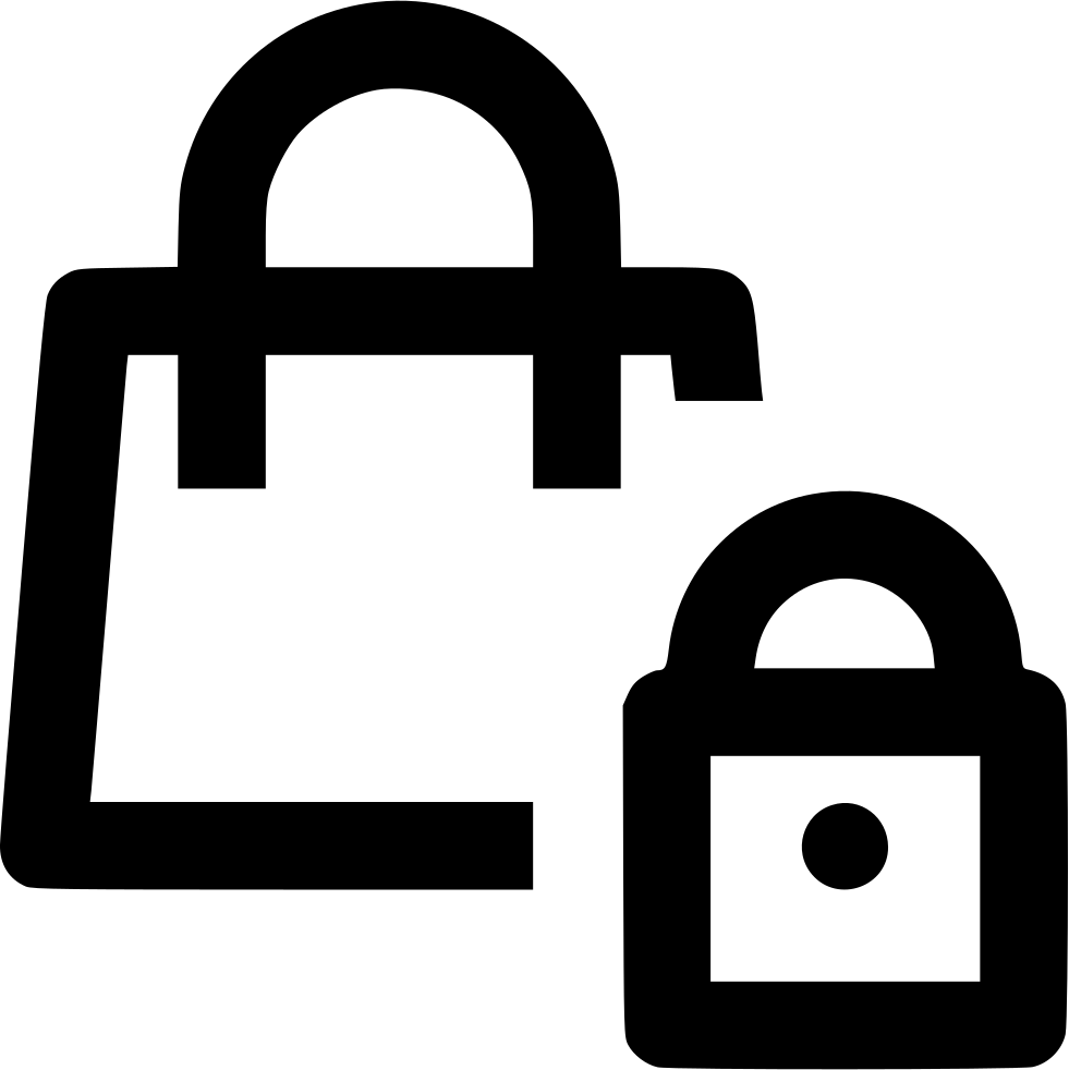 Clip bag lock. Svg png icon free