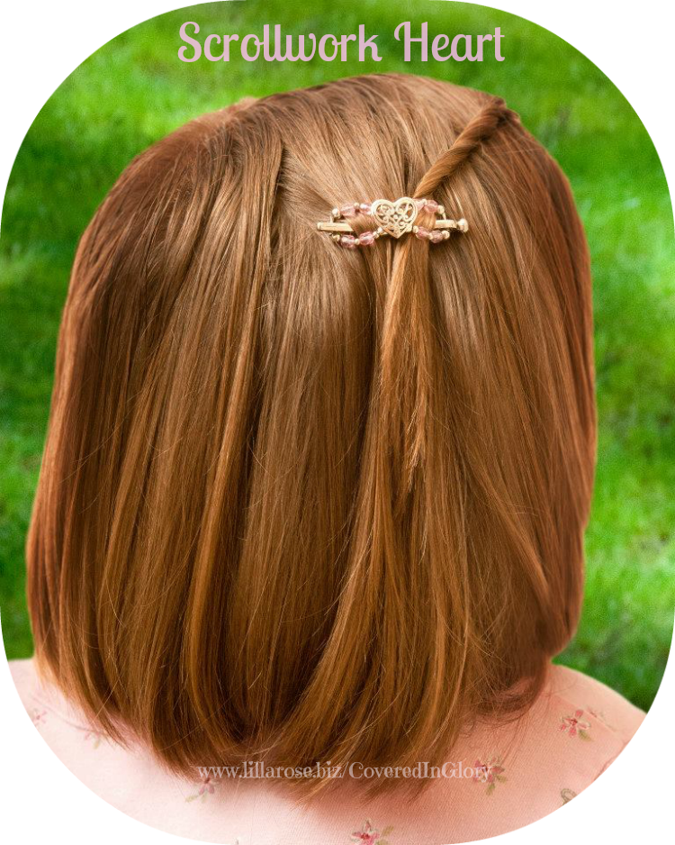 A little girls front. Clip bangs banner freeuse library