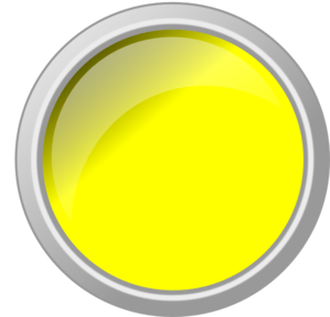 Clip button push. Yellow glossy art at