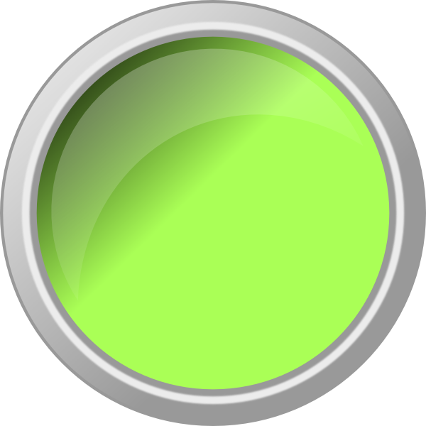 Glossy green art at. Clip button push vector freeuse download