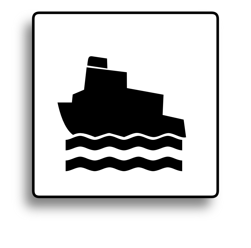 Clip button removable. Onlinelabels art ferry icon