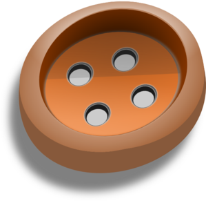 Brown art at clker. Clip button sixteen svg freeuse download