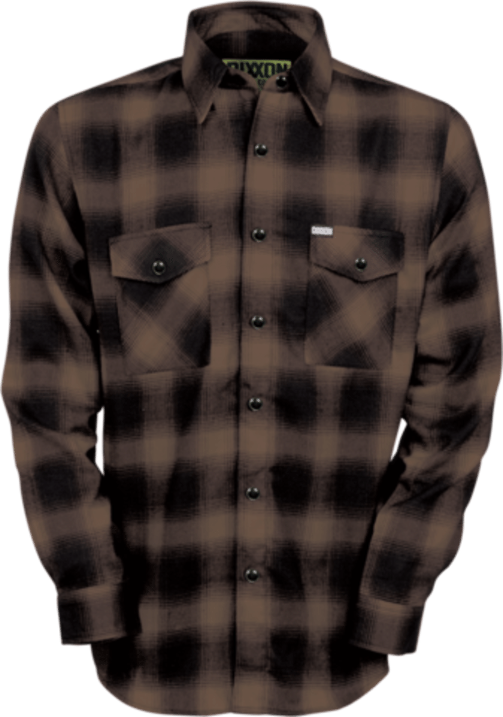 Clip buttons shirt. Flannels fit for