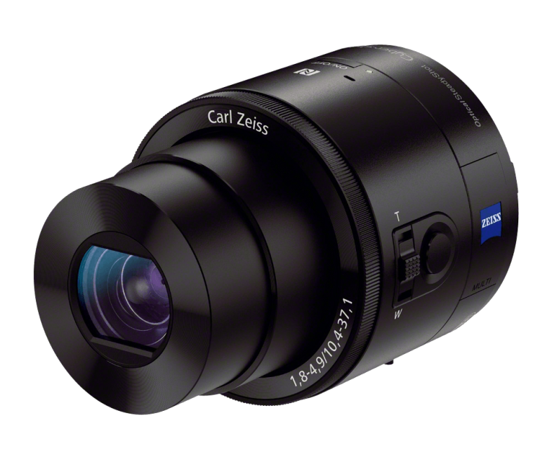 Clip cameras attachable. Sony smartphone lens style