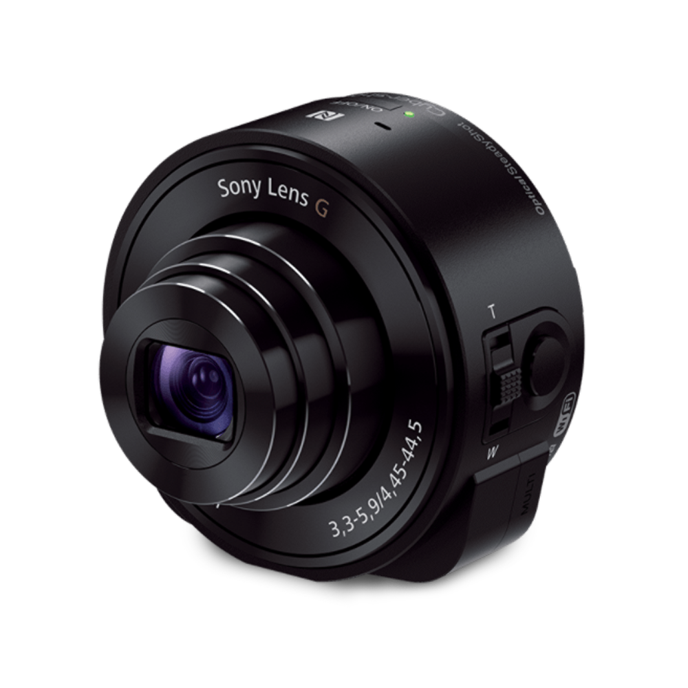 Clip camera attachable. Qx lens style with