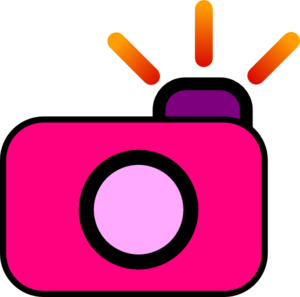 Clip camera clipart. Art at clker com