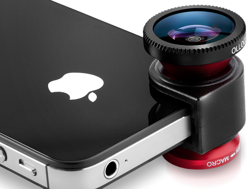 Ollio clip olloclip lens. Mobile accessory review adapters