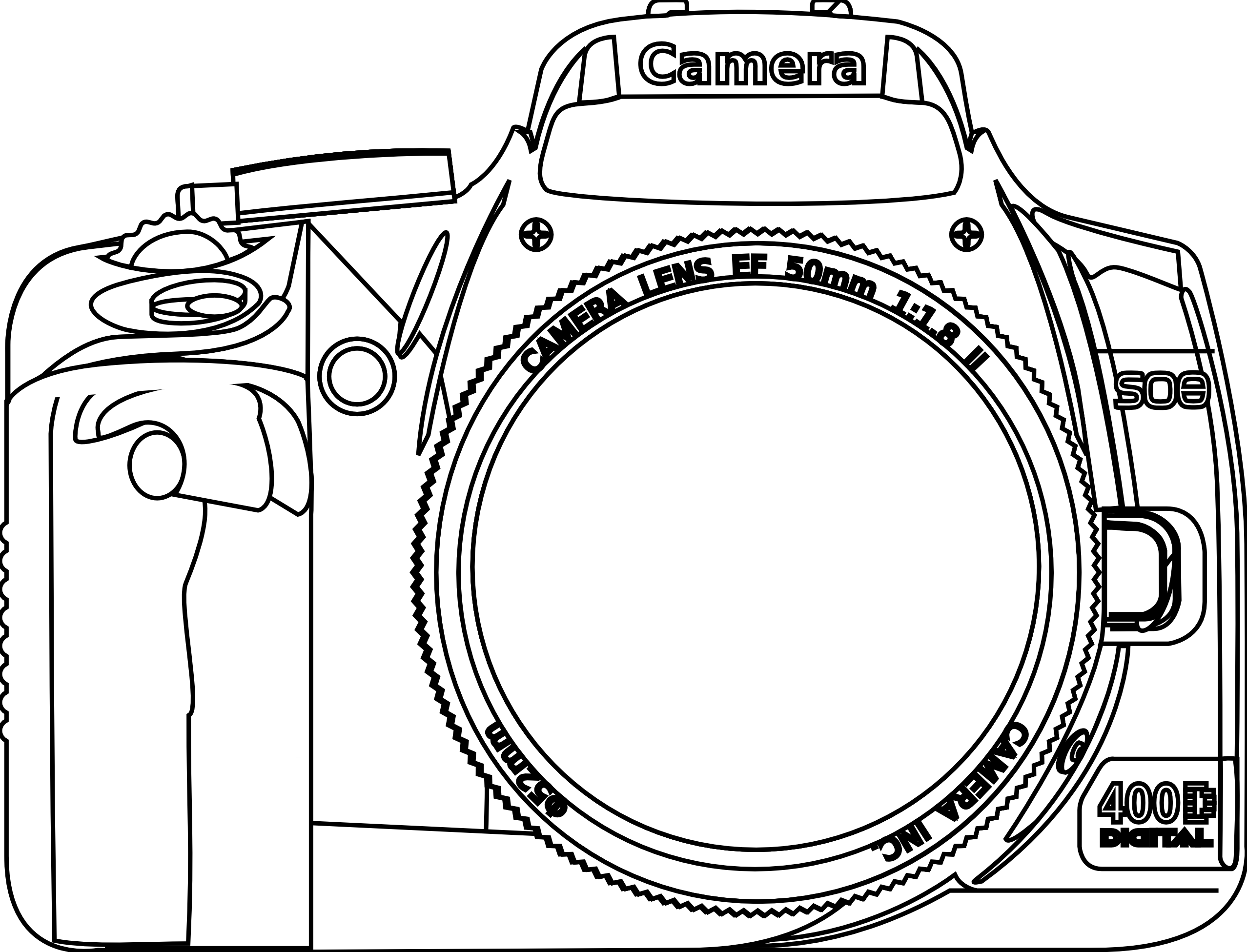 Camara vector vintage camera. Free drawing cliparts download