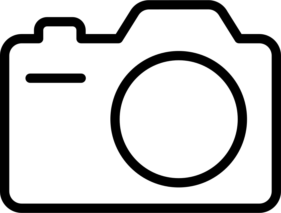 Clip cameras line drawing. Camera clipart transparent