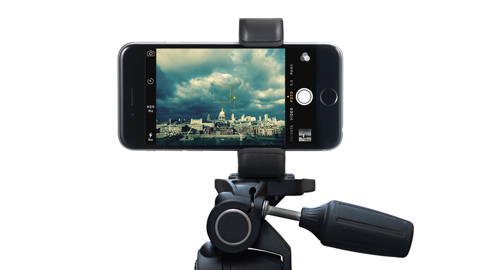 Clip camera tripod mount. Shoulderpod s adapter for