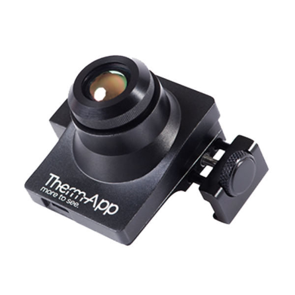 Clip cameras device. Opgal therm app thermal
