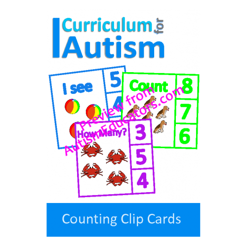 Clip cards. Count