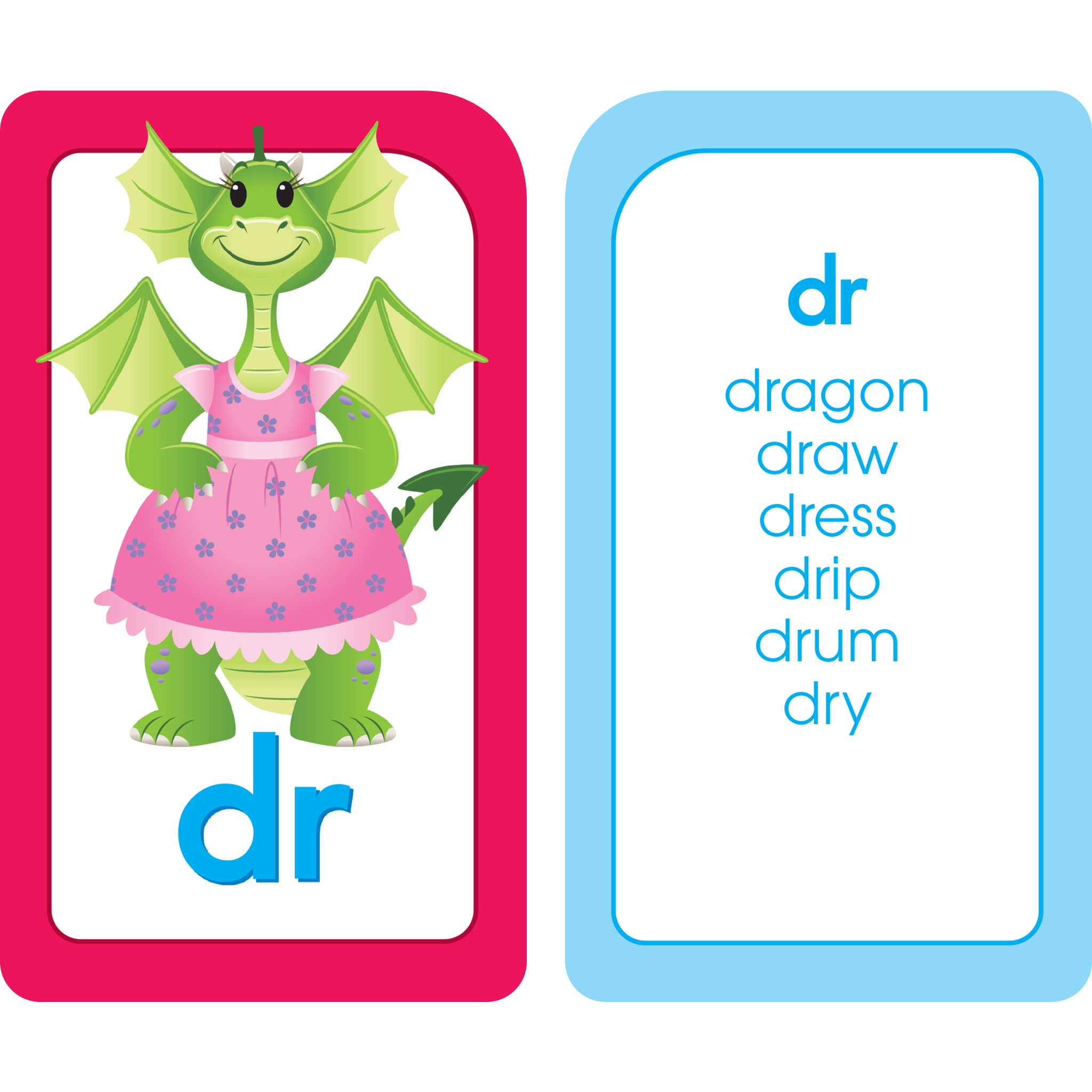 Clip cards blend. Phonics made easy flash