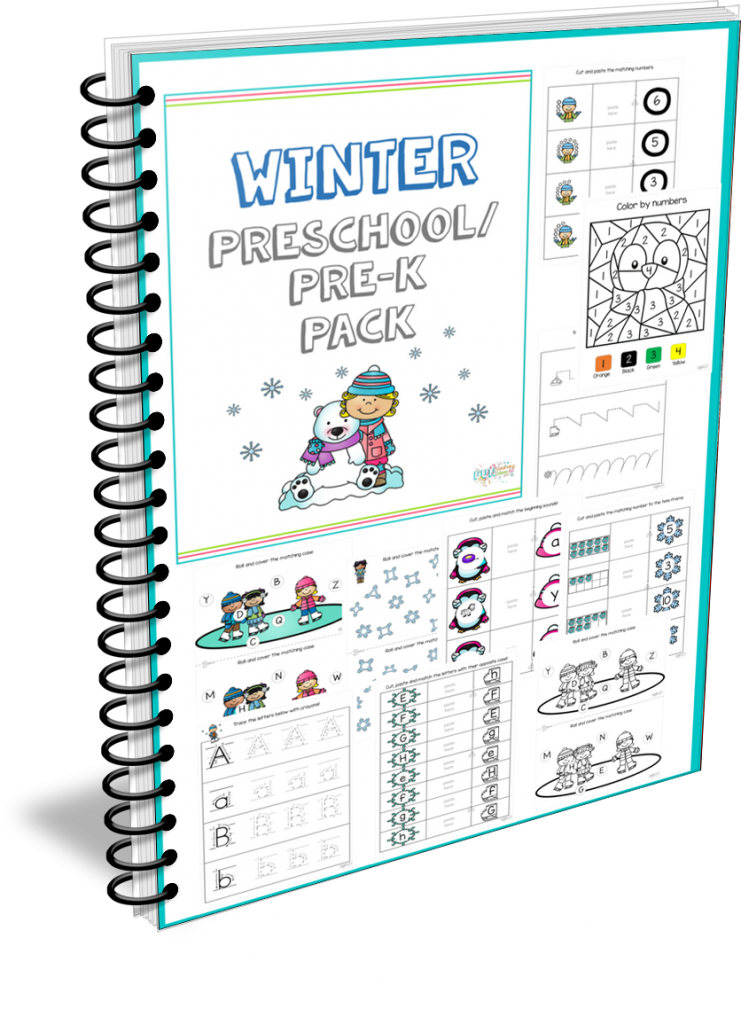 Clip cards consonant blend. Winter clothes counting i