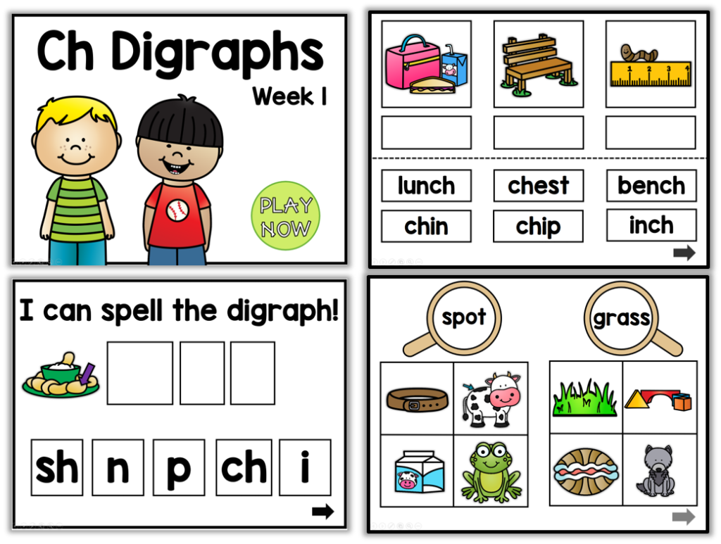 Clip cards consonant blend. Primary blends and digraphs