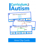 Clip cards shape matching. D and shapes