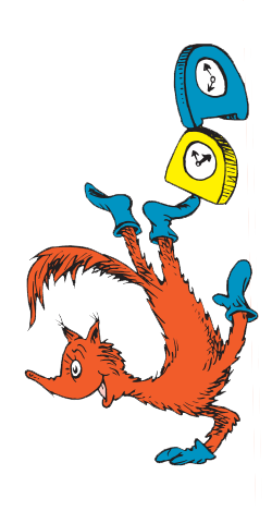 Clip charts dr seuss. Fox in socks character