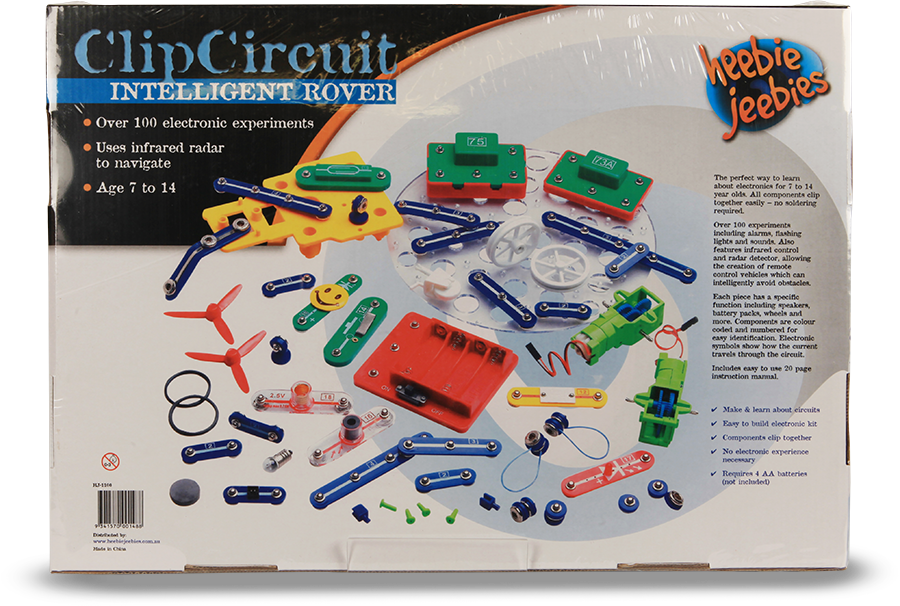 Questacon the national science. Clip circuit kit vector royalty free download