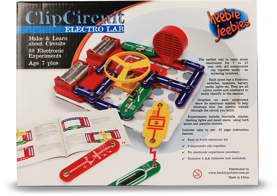 Clip circuit kit. Questacon the national science