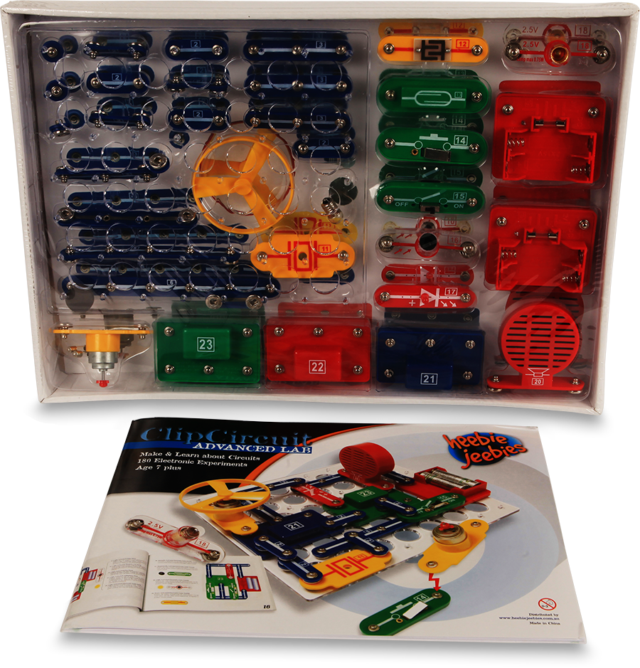 Clip circuit advanced lab. Kit
