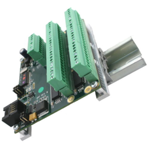 Clip circuit kit. Din rail adapter picture