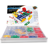 Clip circuit starter lab. Science activity kits advanced