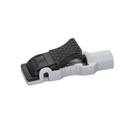 Clip connector plastic. Carefusion crf wide mouth