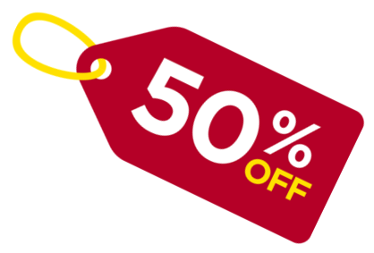 Clip coupon 50%. Educational discount adrian granados