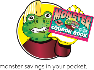 Clip coupon book. Home the monster browse