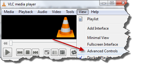 Clip cut trim. How to use vlc