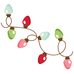 Clip cuts christmas lights. Svg my miss kate