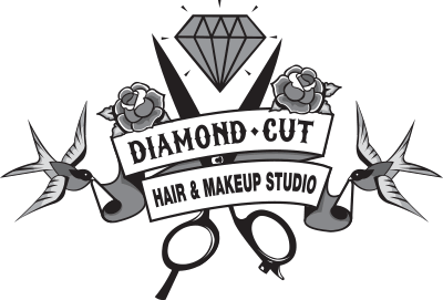 Clip cuts salon. Diamond cut makeup hair