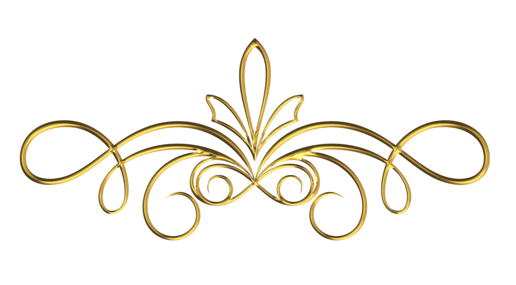 Vector gold victorian. Collection of free golde