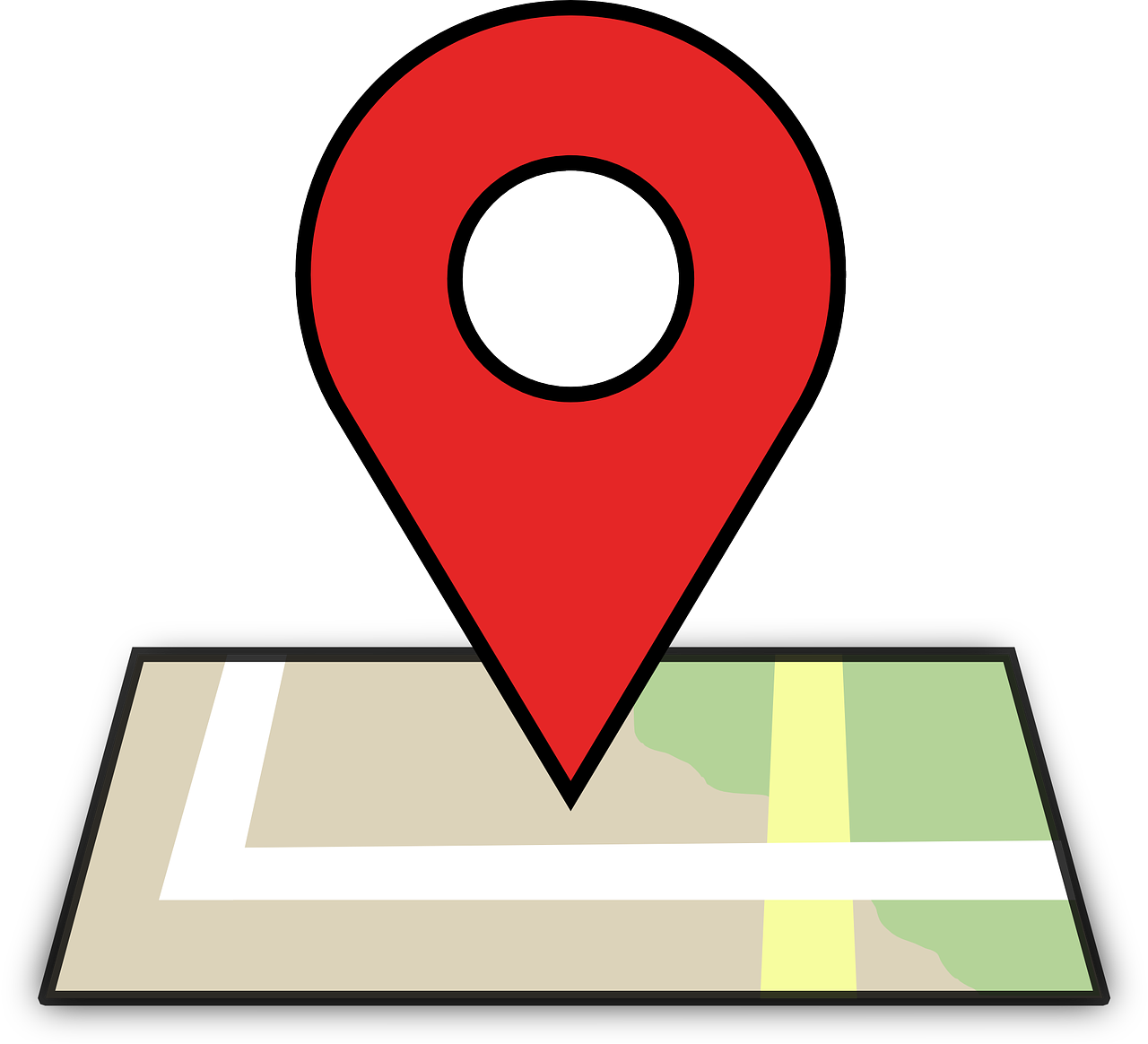 Clip directory business. Google maps is a