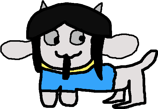 Transparent temmie background. Download and dis is