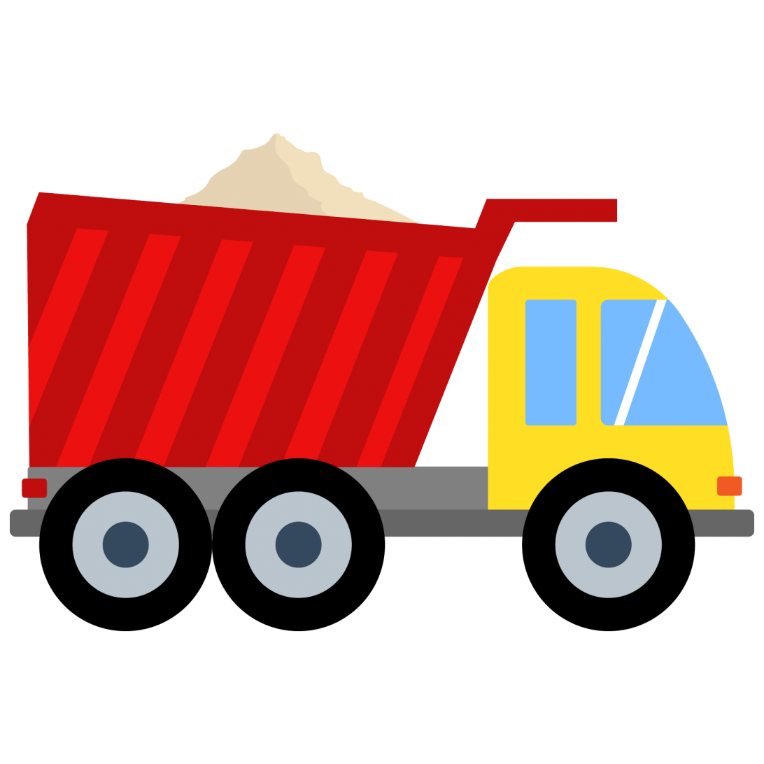 Clip dump truck clipart. Graphic black and