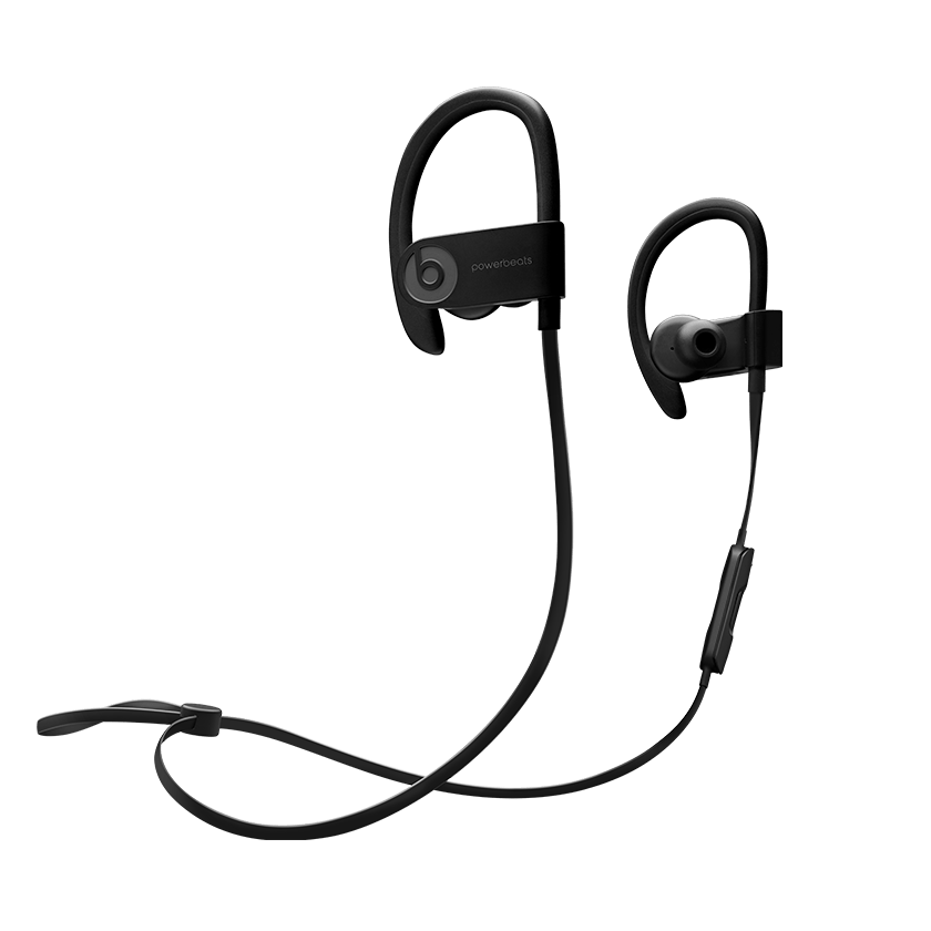 Clip earphones cable management. Powerbeats wireless beats by