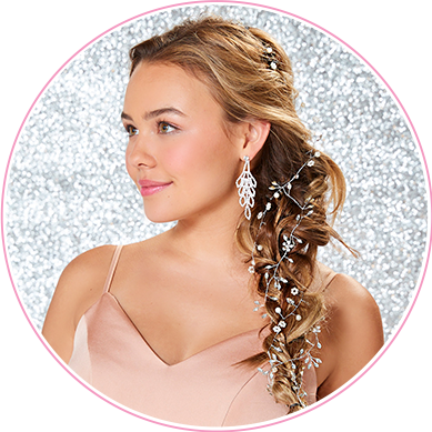 Updo clip chic hair. Accessories claire s us