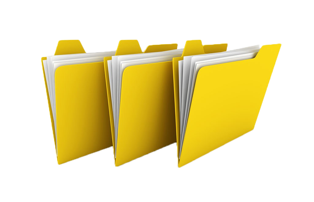 Clip folder brand. Directory photography illustration yellow