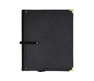 Clip folder double. The standard black musicfolder