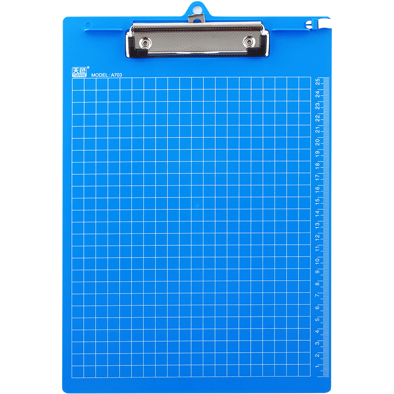 Clip folder pad. Sky tianse writing board